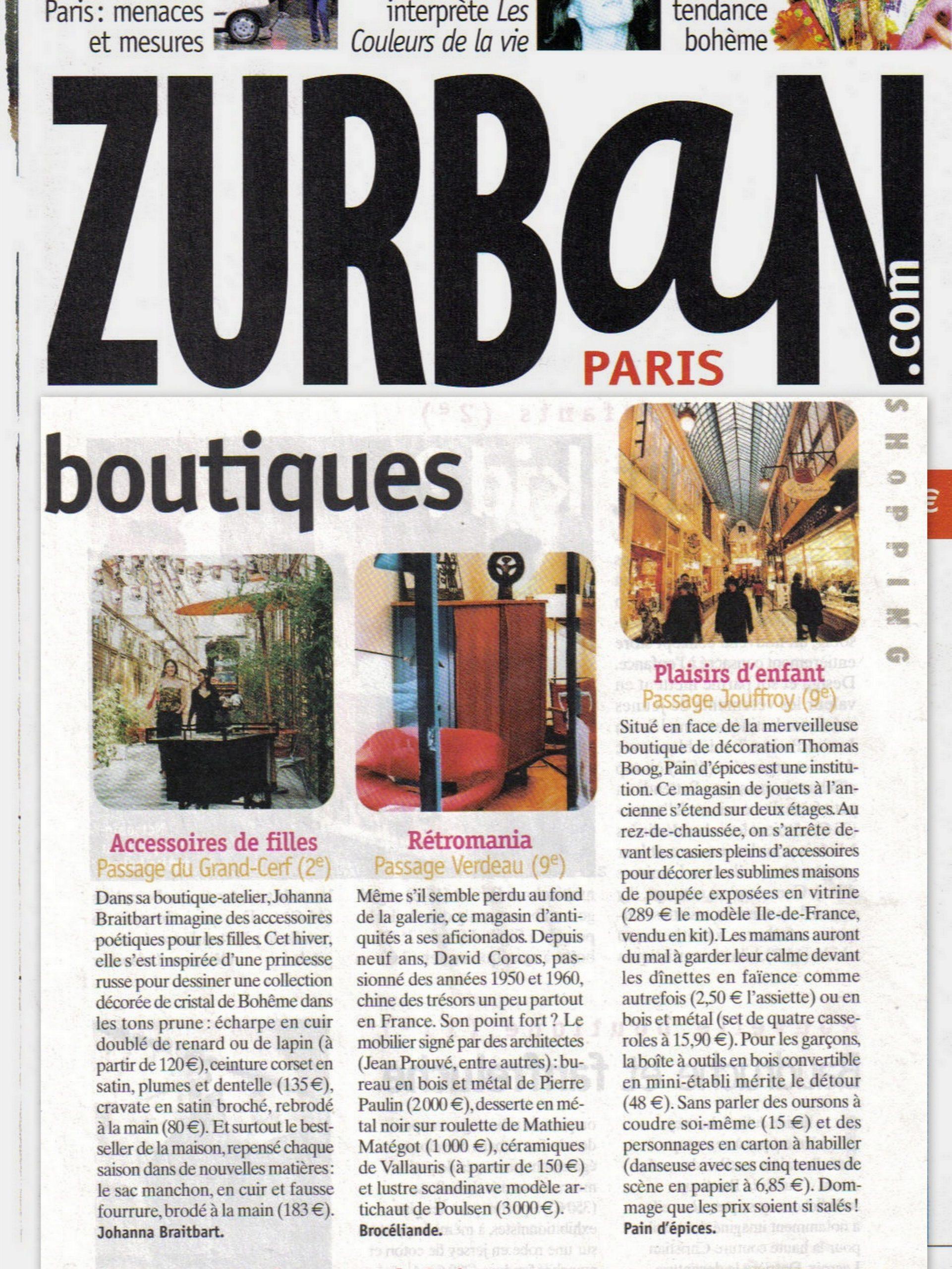 Zurban Paris Boutique
