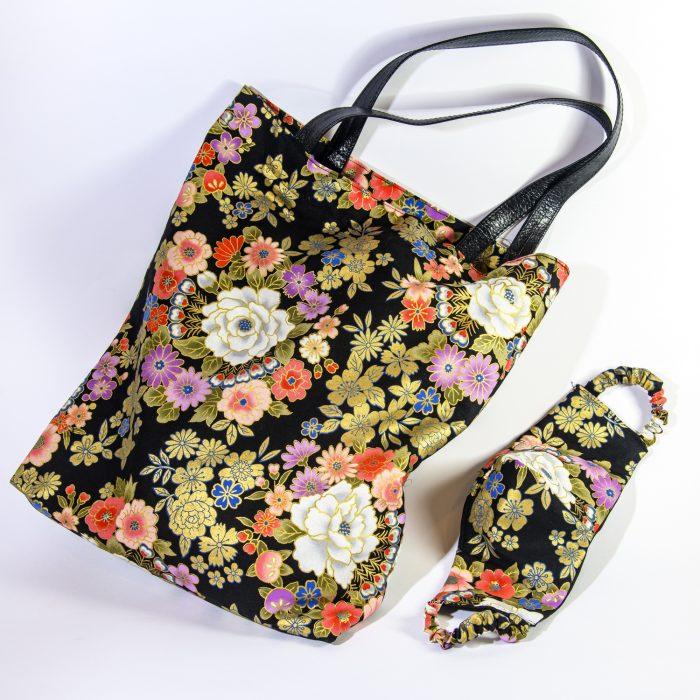 sac-masque-coton-du-japon-noir-or-fleurs-johanna-braitbart