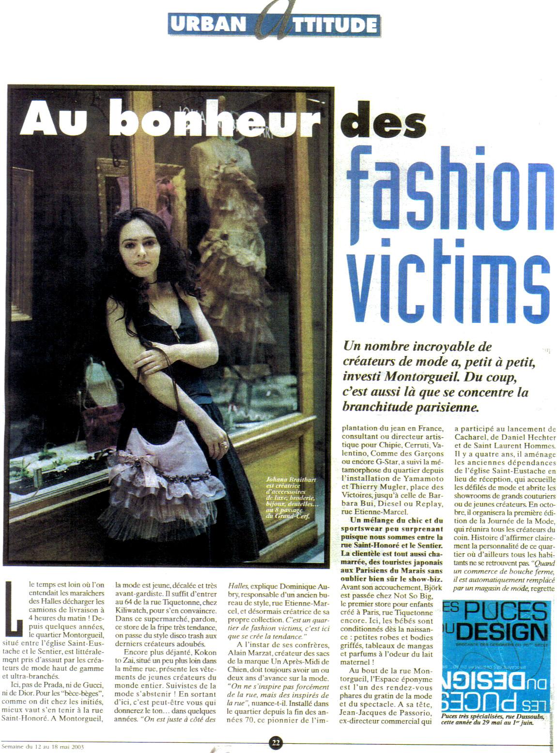 A Nous Paris Mai 2003