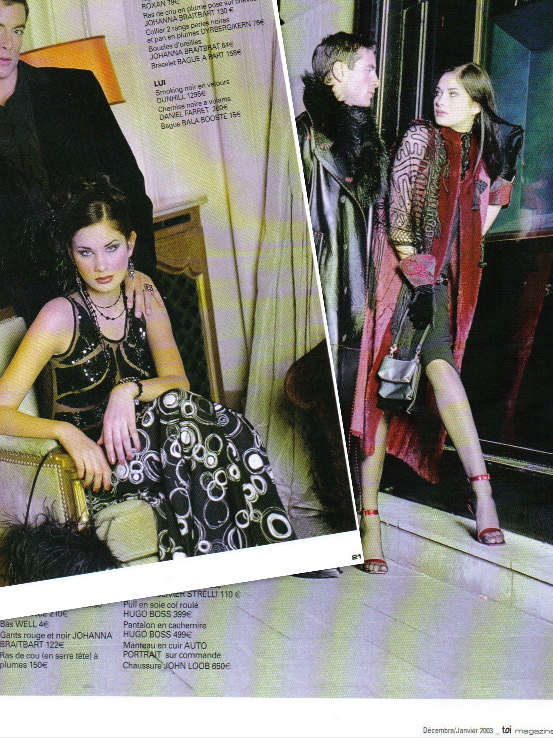 Parution Toi Magazine Johanna Braitbart