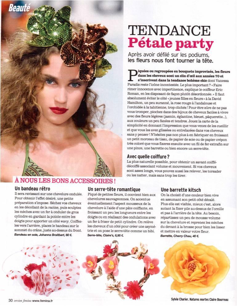 Version Femina Tendance Pétale Party